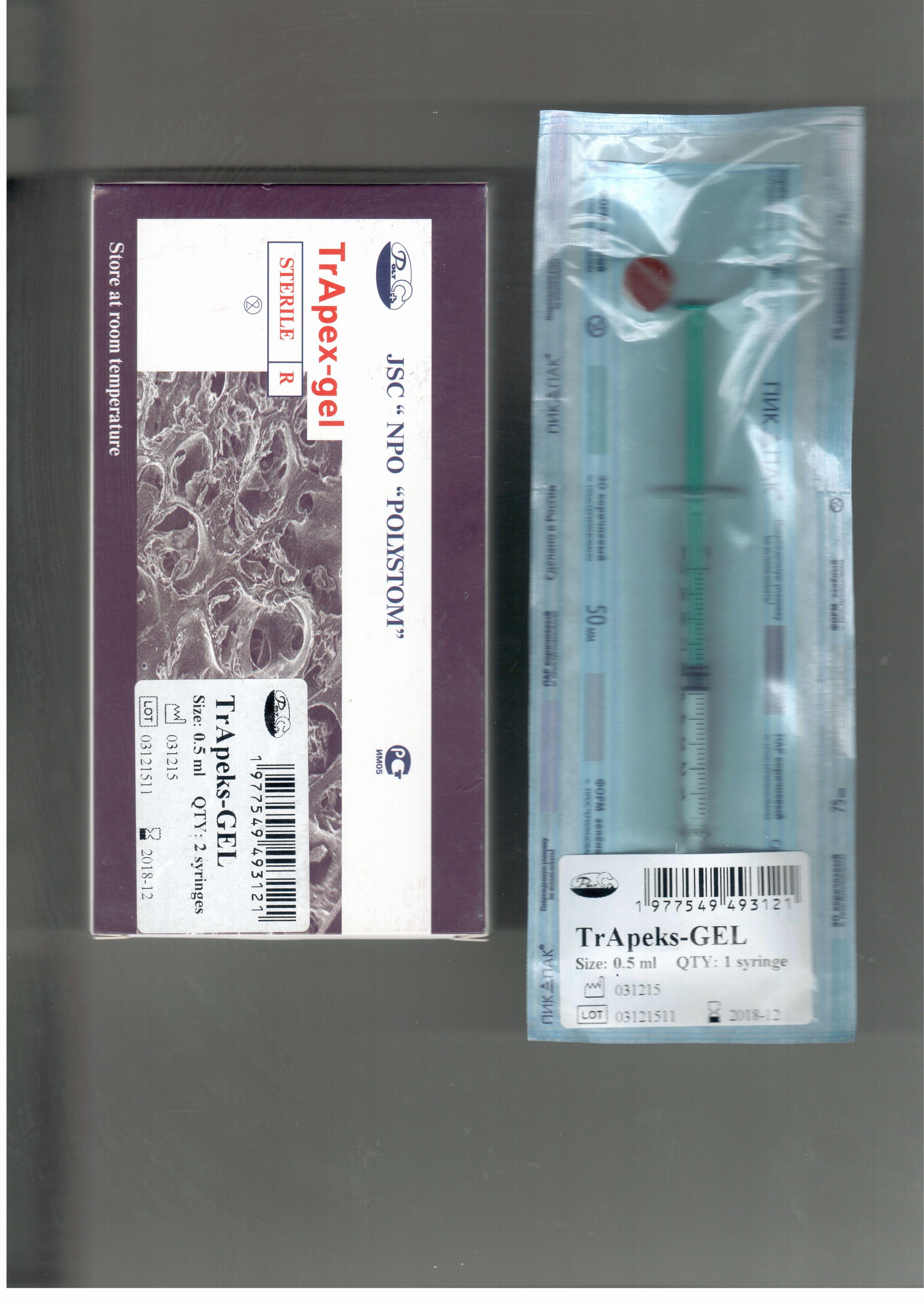 Trapex-gel